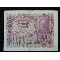 Австрия 20 крон 1922 г