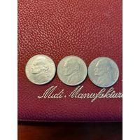 5 центов США (1997,2001,2002). На Ваш выбор любая монета.
