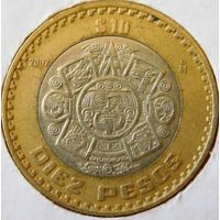 Мексика 10 песо 1997 год
