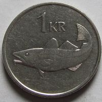 Исландия, 1 крона 1994 г