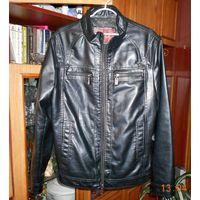 "Куртка кожаная ""F.L.J"" черная"