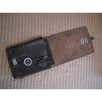 Офицерская кожаная полевая сумка планшет 1952г. В комплекте родные компас и курвиметр!