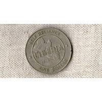 Либерия 1 доллар 1976 //(ON)