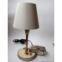 Настольная лампа. Винтаж. Европа.