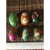 Яйца деревянные расписные СССР ( цена указана за одно)