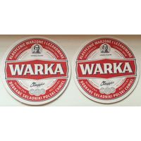 Подставка под пиво Warka No 12