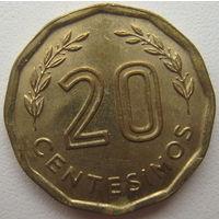 Уругвай 20 сентесимо 1981 г. (u)
