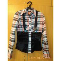 Блузка офисная 44-46
