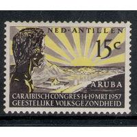 Нидерландские Антилы /1957/ Первая Карибская Конференция Психического Здоровья