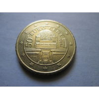 50 евроцентов, Австрия 2002 г.