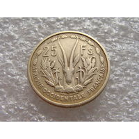 Французская Западная Африка.  25 франков 1956 год  KM#7