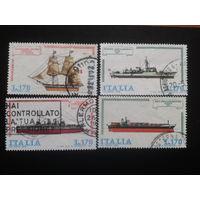 Италия 1978 корабли полная серия