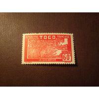 Французский Того 1926 г.Плантация какао.