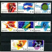 Руанда - 1981г. - Телекоммуникации и здоровье - полная серия, MNH [Mi 1127-1134] - 8 марок