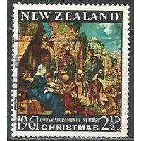 Новая Зеландия. Рождество. 1961г. Mi#419.