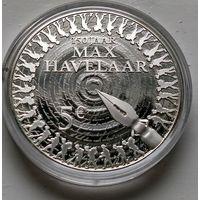 "Нидерланды 5 евро, 2010 150 лет роману ""Макс Хавелар""  2-14-7"