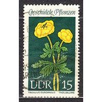 1969 ГДР. Охраняемые растения