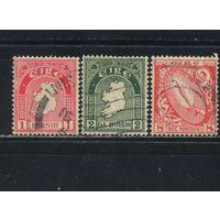 Ирландия Респ 1940-9 Нац.символы Меч света Карта Стандарт #72,74,106