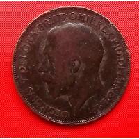 55-02 Великобритания, 1 пенни 1919 г.  Благотворительный лот