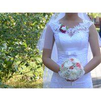 Свадебное платье (прямое)