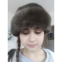 Шикарная шапка из нерпы натуральный мех
