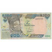 Нигерия, 200 найра 2000 год