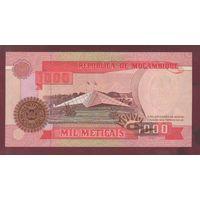 МОЗАМБИК. 1000 метикал 1991. UNC. ВА0361018  распродажа