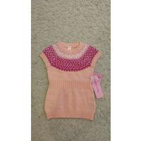 Платье вязаное 86-92
