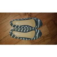 Туфли женские повседневные. Торговая марка Paola Platini.36 размер.По стельке 23 см