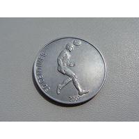 "Конго. 50 сантимов 2002 года KM#75 ""Футболист"""