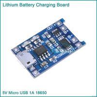 Зарядное устройство+ защита контроллер зарядки для 3.7 В Li-Pol и Li-Ion аккум  18650 и пр. вход микро USB и переделка шуруповерта