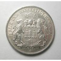 3 марки 1909 год Гамбург