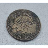 Французская Экваториальная Африка 10 франков, 1961 1-4-12