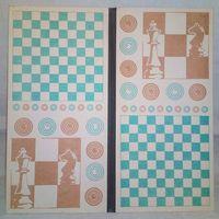 Доска для шашек СССР 2