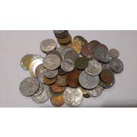 Некондиция Европа, немного РФ +жетоны 195 гр. с 1 рубля 19#01