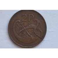 2 пенса 1971 Ирландия КМ# 21 бронза
