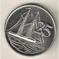 Каймановы острова 25 цент 2008