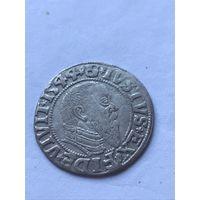 Грош 1544г. Пруссия (узкая борода)