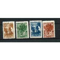 Албания - 1958 - 50-я годовщина битвы в Машкулоре - [Mi. 564-567] - полная серия - 4 марки. Гашеные.  (Лот 60L)
