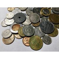 Сборный лот #1.2 - 50 монет, все разные, без СССР и СНГ