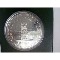 Канада доллар ТРОН серебро с 2 руб.