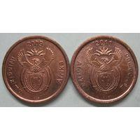 ЮАР 5 центов 2009г.