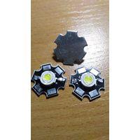 Светодиод на алюминиевой подложке 3шт