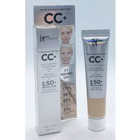 IT Cosmetics Your Skin But Better CC+ Color Correcting Full Coverage Cream оттенок Light 12 ml (трэвл-версия)