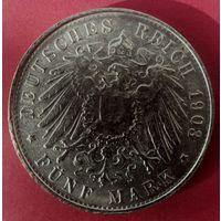 5 марок Германия (Новодел)