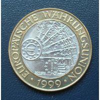 50 шилингов 1999 год. Австрия. Введение евро.