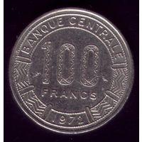 100 Франков 1972 год Конго