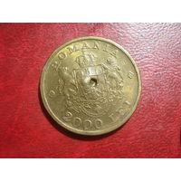 2000 лей 1946 года Румыния (онулянт)