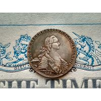Монета РИ, 1 рубль 1768.