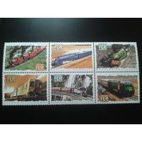 Австралия 1993 поезда сцепка